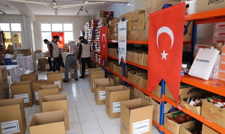 حجر الصداقة التركية … اطلاق مشروع اغاثي