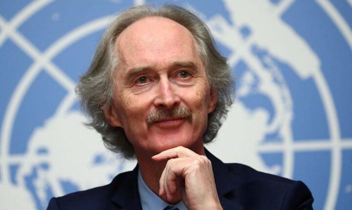 بيدرسن : اطلاق النار في سوريا يساهم في مواجهة كورونا