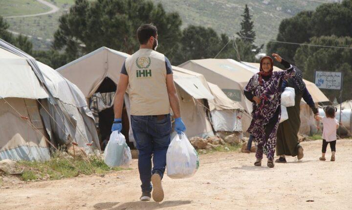 IHH: تواصل تقديم المساعدات ل 60 الف مدني في سوريا