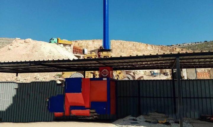 محلي عفرين يواصل العمل على إتمام مشروع محرقة مركزية للتخلص من النفايات الطبية ومخلفاتها في المدينة