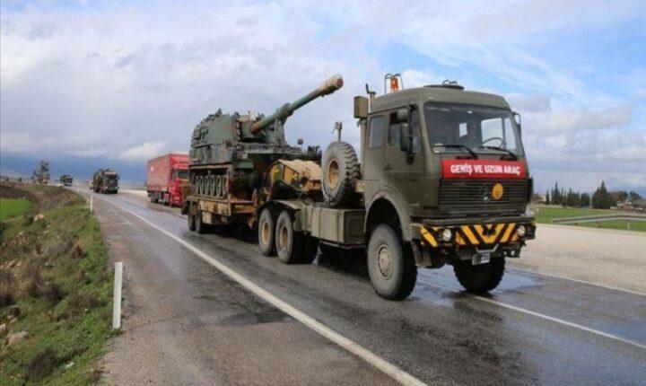 الجيش التركي يرسل تعزيزات عسكرية جديدة لنقاط المراقبة في إدلب