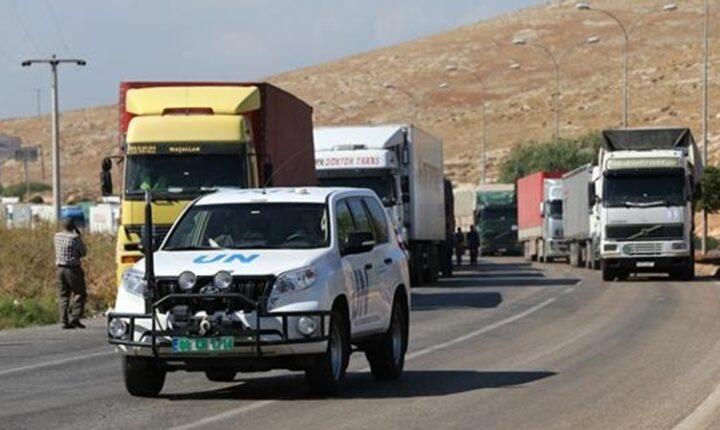 الأمم المتحدة ترسل 52 شاحنة مساعدات إلى إدلب