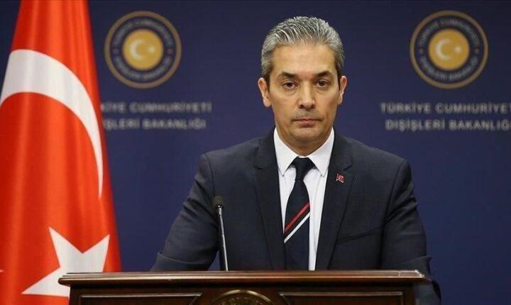 """الخارجية التركية: بيان الدول الخمس ضد أنقرة """"نموذج للنفاق"""""""