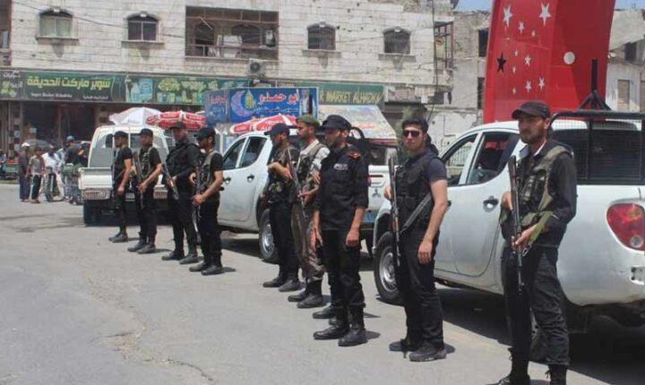"""لضبط الأمن.. إجراءات جديدة لـ """"قوى الشرطة والأمن الوطني العام"""" في الباب"""