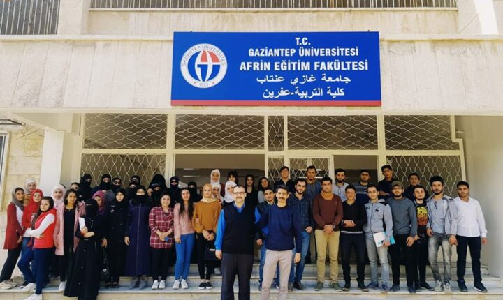 كلية التربية في مدينة عفرين تضع كافة الاحتمالات لإجراء الامتحانات النهائية والتكميلية المقررة لهذا العام