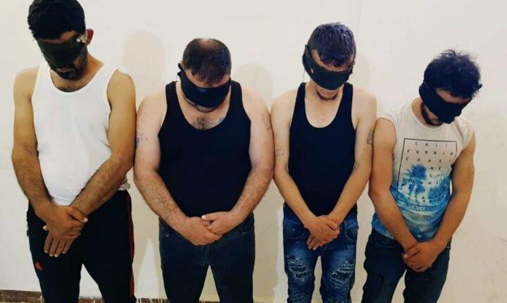 الجيش الوطني يلقي القبض على أفراد خلية تابعة للنظام في مدينة عفرين