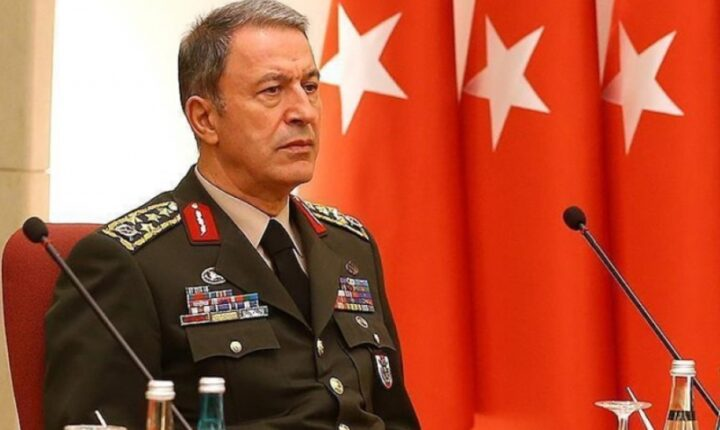 أكار يعلن تحييد 1458 إرهابيا شمالي العراق وسوريا منذ مطلع يناير