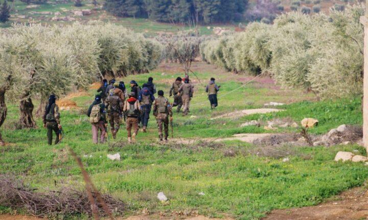 عفرين.. اشتباكات عنيفة بين الجيش الوطني و تنظيم YPG الإرهابي على محور باصوفان بالتزامن مع قصف مدفعي تركي على مواقع الأخير