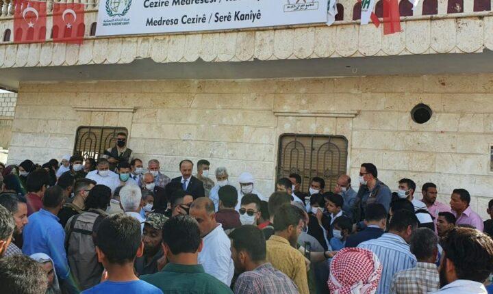 """بحضور والي """"شانلي أورفة"""".. معهد الجزيرة يخرج 132 معلماً للقرآن في مدينة رأس العين"""