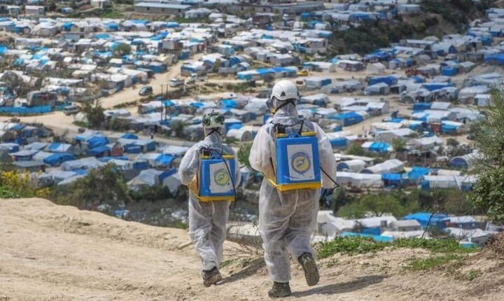 """الدفاع المدني السوري يحمل منظمة الصحة العالمية مسؤولية فشلها في حماية السوريين من وباء """"كورونا"""""""