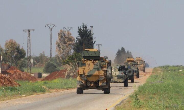 تركيا وروسيا تسيران أطول دورية مشتركة على طريق M4 بإدلب
