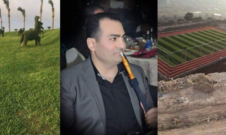 سوريا أبو علي خضر.. من بائع دجاج إلى صاحب قصر يحوي مهبط طائرات وملاعب ومسابح