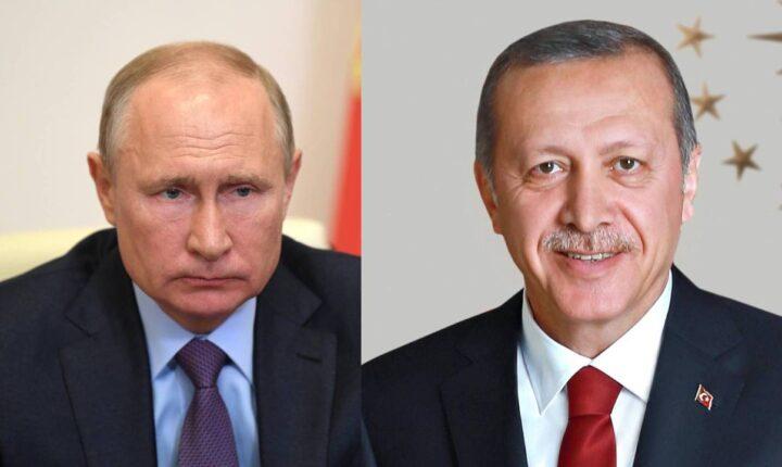 أردوغان وبوتين يبحثان تطورات الأوضاع الإقليمية وفي مقدمتها إدلب وليبيا