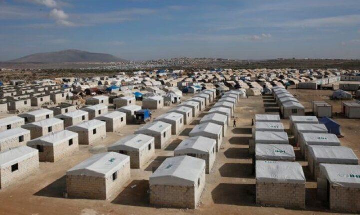 """بدعم متبرعين أتراك    الإغاثة التركية تطلق مشروعًا لبناء """"حي بورصة"""" للنازحين بإدلب"""