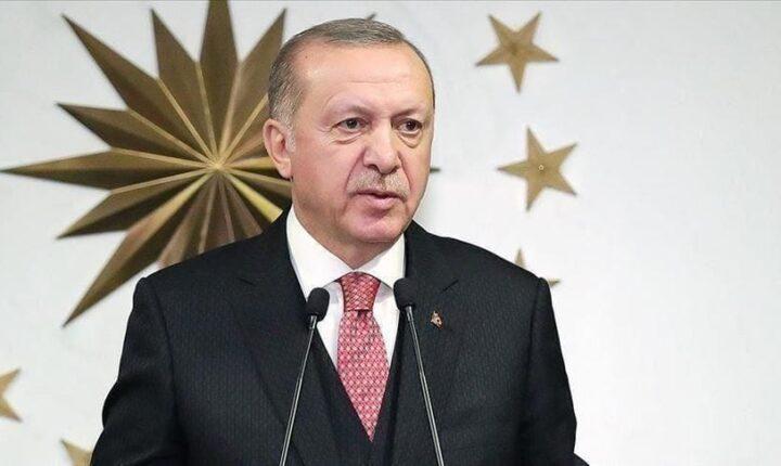 اردوغان : يكشف حجم العمليات الامنية والعسكرية ضدد تنظيم بي كا كا الارهابي