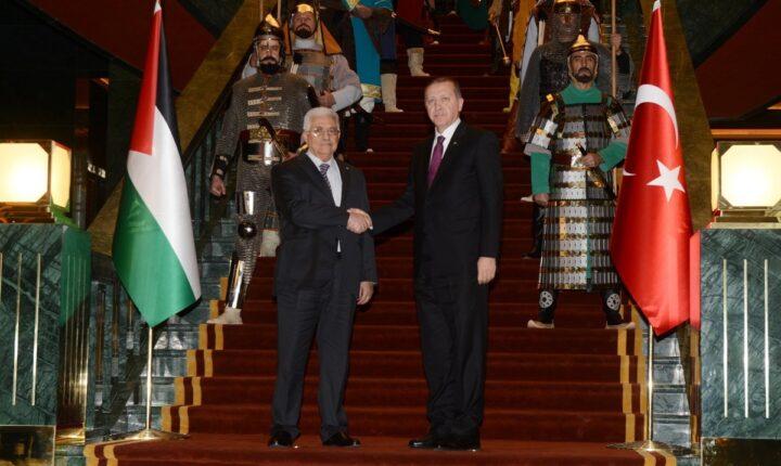 عباس يهنئ أردوغان بإعادة فتح مسجد آيا صوفيا الكبير