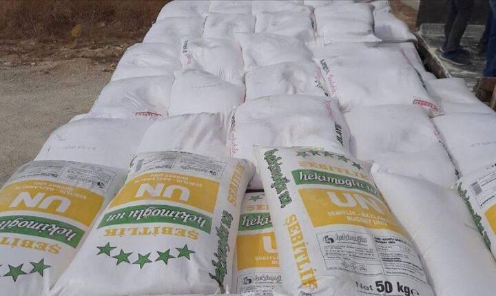 مساعدات اممية تصل الى ادلب عبر تركيا