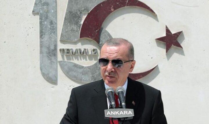 أردوغان: ليلة 15 تموز غيرت مستقبل الأمة التركية