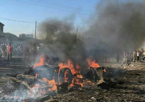 """درع الفرات… شهداء وجرحى بانفجار سيارة مفخخة في بلدة """"سجو"""" على الحدود التركية شمال حلب"""