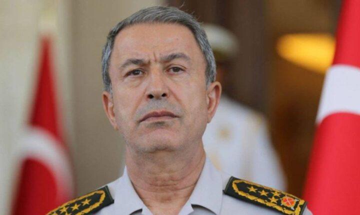 """""""خلوصي آكار"""" يتوعد بالرد على أي هجمات قد تشن ضد بلاده من قبل نظام """"الأسد"""" أو المنظمات الإرهابية"""