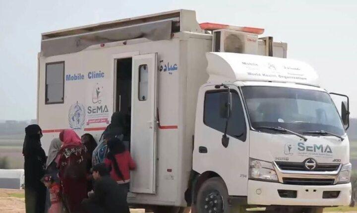 الحكومة المؤقتة تطلق عيادتين متنقلتين في الشمال السوري