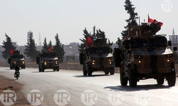 إدلب.. 3 أرتال عسكرية تركية ضخمة تدخل المنطقة