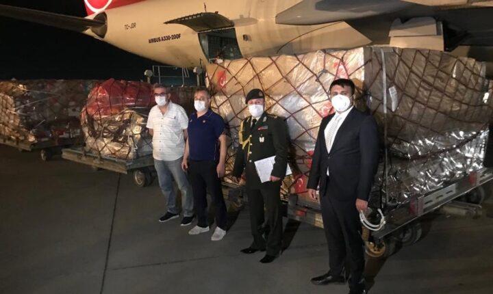 بتوجيه من أردوغان.. تركيا ترسل مساعدات طبية إلى أوزبكستان