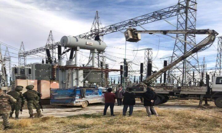 """الجيش التركي يتابع صيانة محطة المياه المغذية لـ""""الحسكة"""" السورية"""