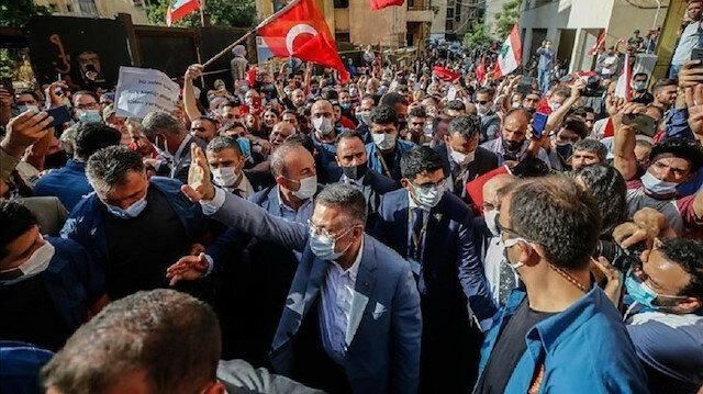"""""""آفاد"""" التركية: محبة سكان بيروت تزيد من مسؤولياتنا نحوهم"""