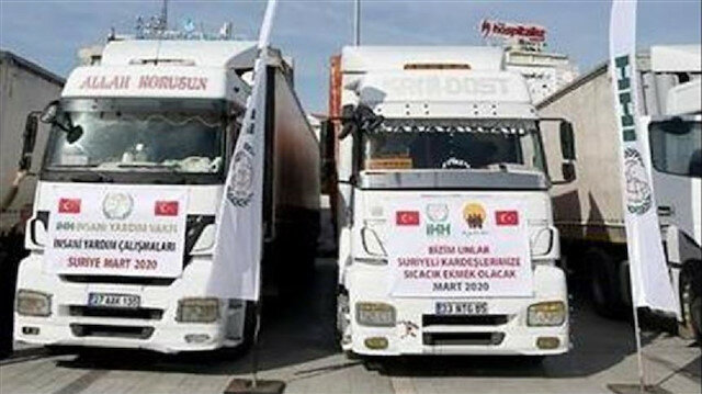 مؤسستان تركيتان توزعان مساعدات غذائية على متضرري انفجار بيروت