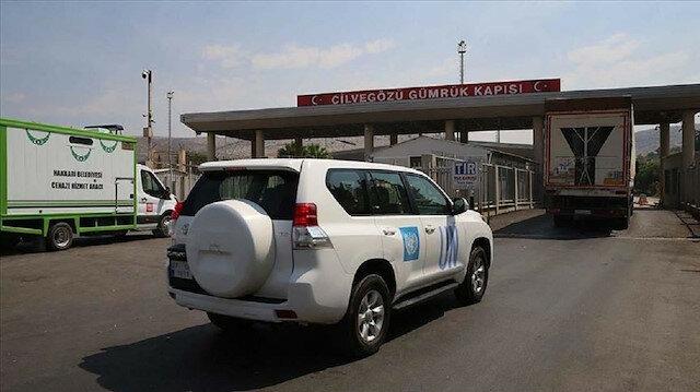 عبر تركيا.. 39 شاحنة مساعدات أممية تدخل إدلب