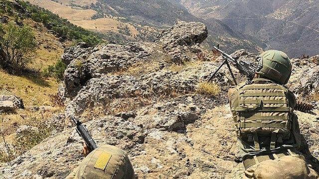 """تركيا: تحييد 91 إرهابيا من """"بي كا كا"""" شمال العراق وسوريا"""