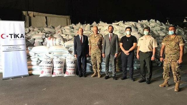 """""""تيكا"""" التركية توزع 400 طن من القمح في لبنان"""