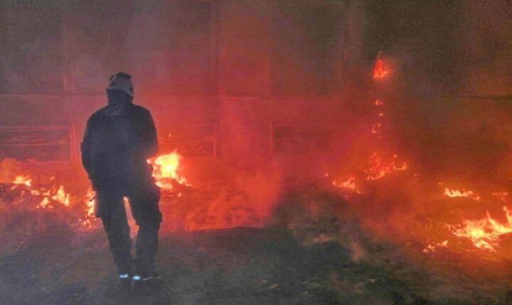 """سقوط جرحى بقصف على سوق """"الفيول"""" بريف جرابلس"""