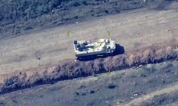 بعد انتهاكه الهدنة.. أذربيجان تدمر مدرعات للجيش الأرميني