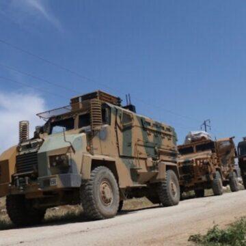 الجيش التركي يدخل دبابات ثقيلة إلى إدلب