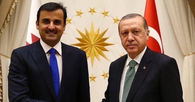 الأمير تميم يهنئ الرئيس أردوغان بذكرى تأسيس الجمهورية