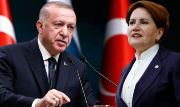 أردوغان يهنئ أقشنر بالذكرى السنوية الثالثة لتأسيس الحزب الجيد المعارض