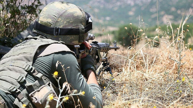 """تحييد 3 إرهابيين من """"بي كا كا"""" جنوب شرقي تركيا"""