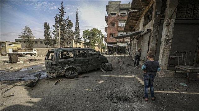 مقتل طفلة في قصف مدفعي للنظام على مدينة أريحا بمحافظة إدلب
