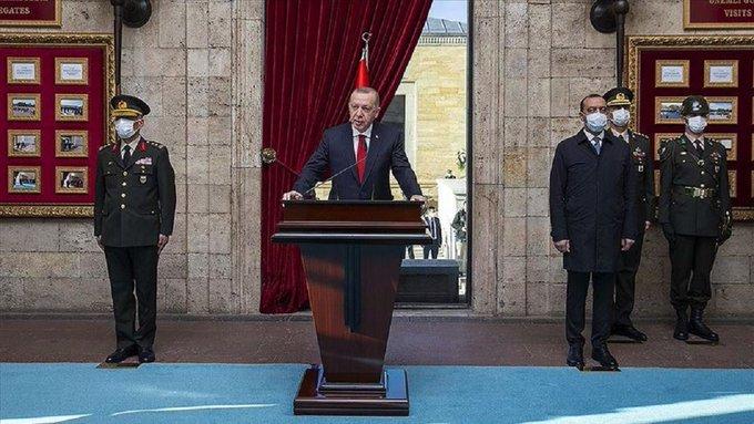 أردوغان يشارك في مراسم إحياء ذكرى وفاة أتاتورك