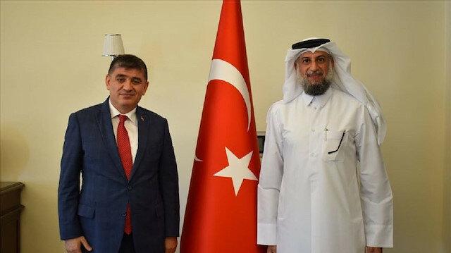 سفير تركيا بالدوحة يلتقي المستشار الخاص لأمين عام الأمم المتحدة