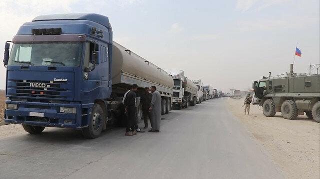 """""""ي ب ك"""" الإرهابي يواصل بيع النفط للنظام السوري"""