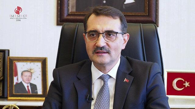 """وزير الطاقة التركي يعلن تشغيل خط """"تاب"""" للغاز"""