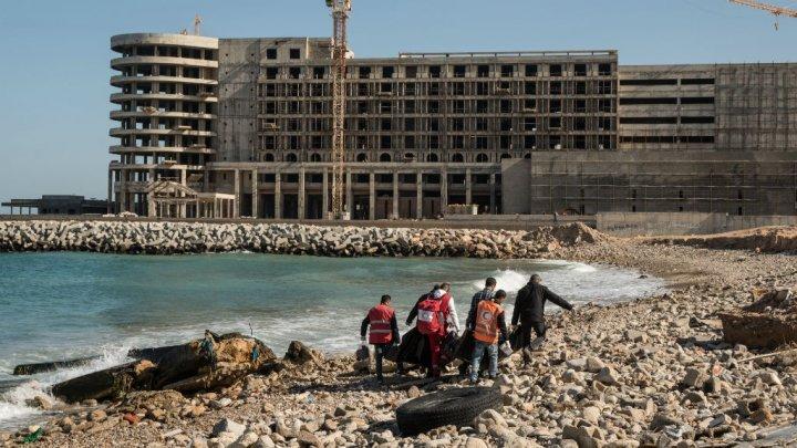 ليبيا: العثور على جثث أربعة أطفال إثر غرق قارب مهاجرين في المتوسط