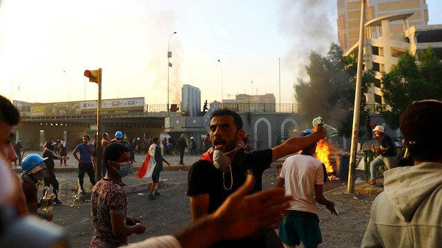العراق.. الأمن يفرق محتجين ويوقف 5 ناشطين وصحفيين بالسليمانية