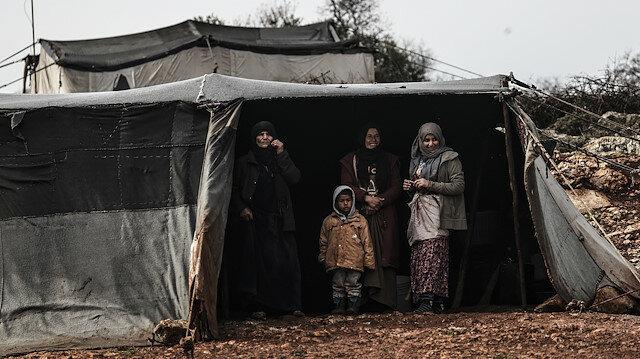 بدعم تركي.. نازحون سوريون يعيشون في منازل بدل الخيام