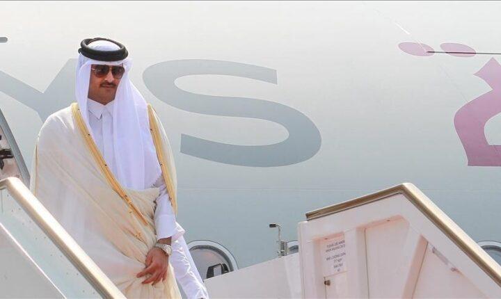 """أمير قطر يغادر """"العلا"""" ويشكر السعودية على الأجواء الأخوية"""