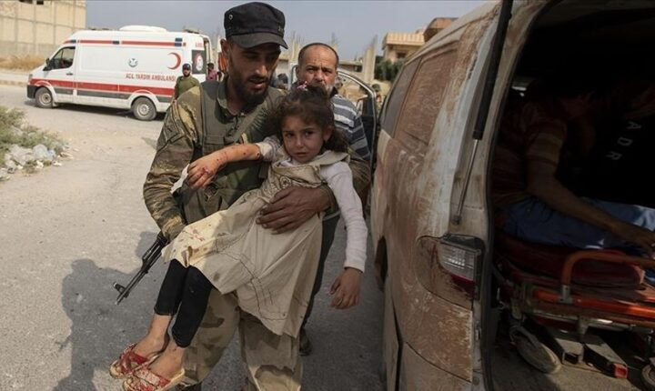 """سوريا.. مقتل طفلين بألغام عناصر """"ي ب ك"""" في تل أبيض"""