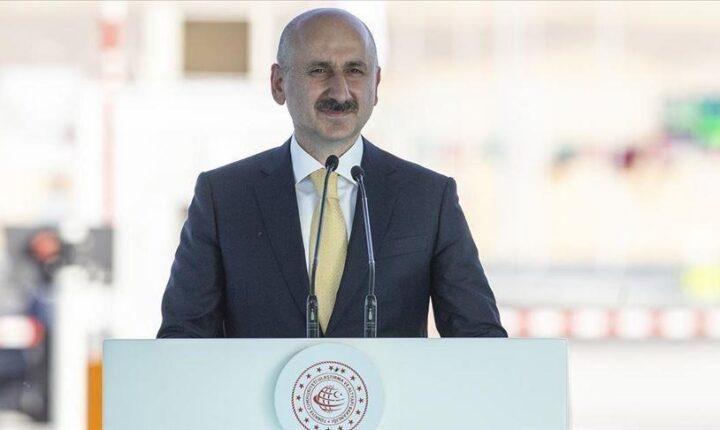 وزير النقل التركي: بلدنا قوة لوجستية عظمى